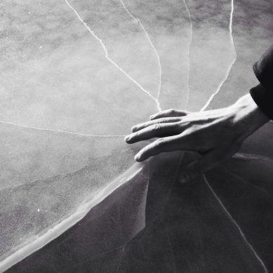 ice crack. by kai tirkkonen